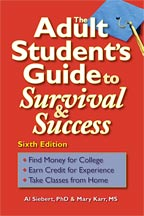 Adult Student's Guide to Surivial and Success, 6th Edition, cover graphic